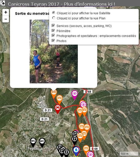 CanicrossTeyran2017Parcours